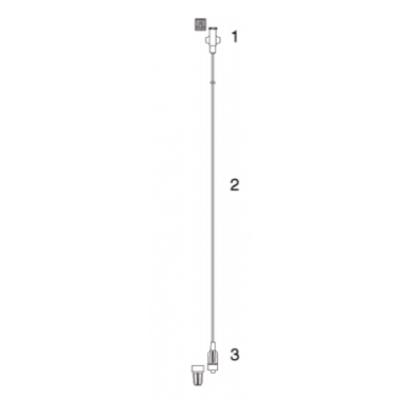 Codan perfusor verlengslang 2 m