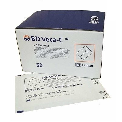 BD Veca-C nonwoven infuuspleister