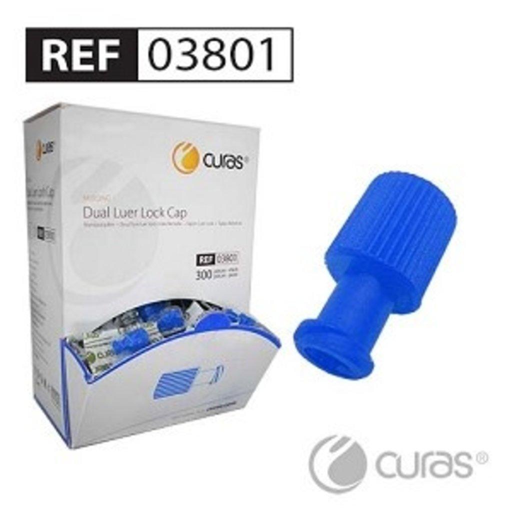 Curas Combilock (Dual Luer Cap)/ 300st