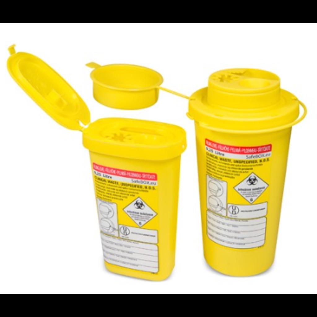 SafeBOX Conteneur pour objets tranchants SafeBOX MINI