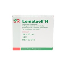 Lomatuell H vaseline gaasverband