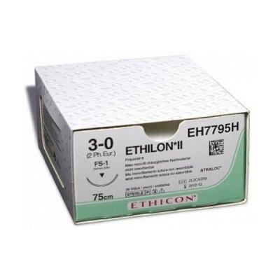 Ethicon Ethilon II 2-0