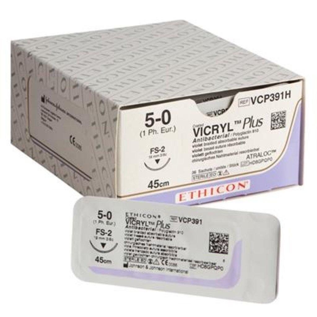 Ethicon Vicryl Plus 4-0