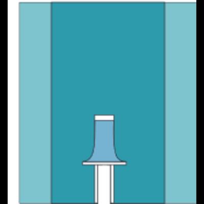 Mölnlycke Vasculair splitlaken - BARRIER