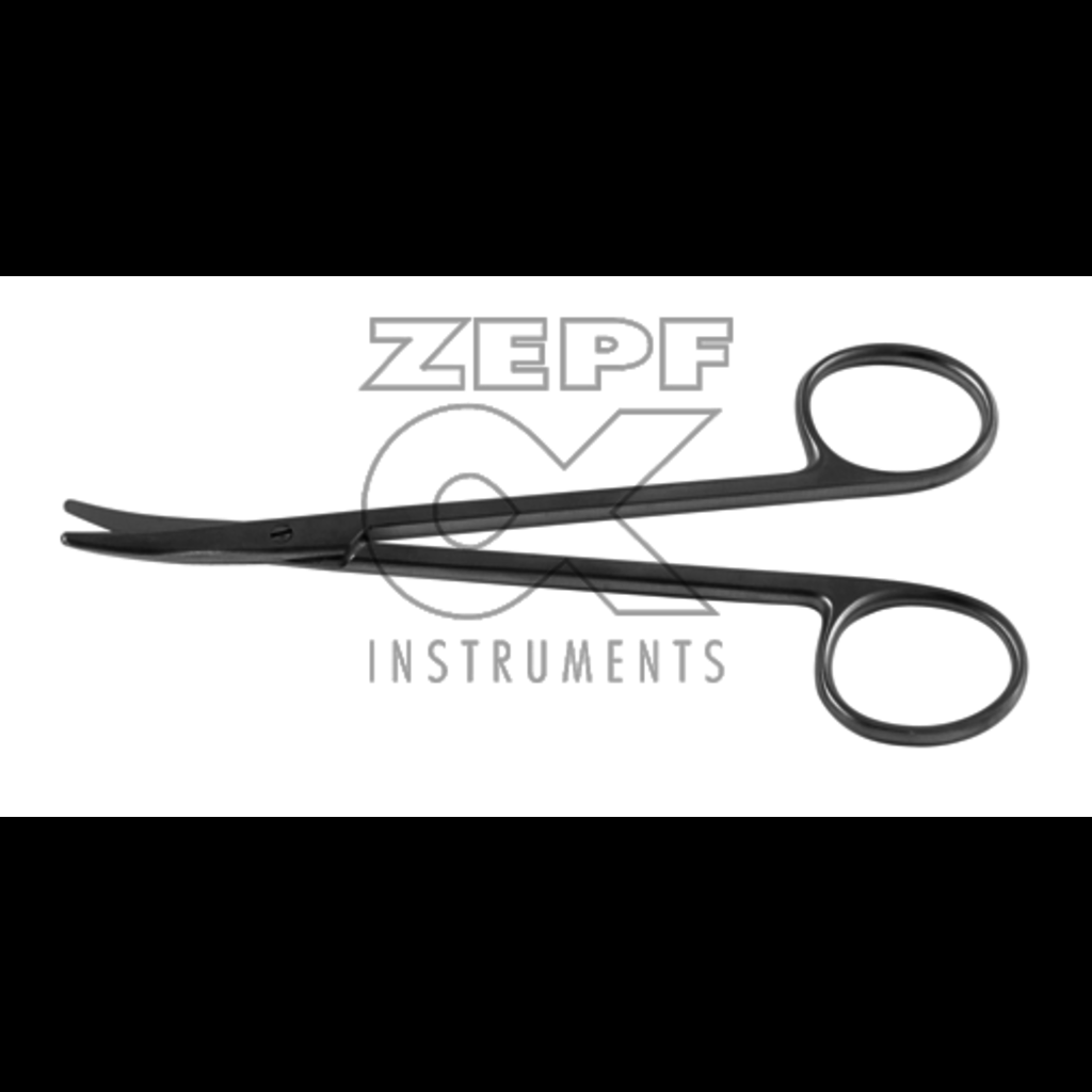 ZEPF Ciseaux à strabisme courbés 11,5cm