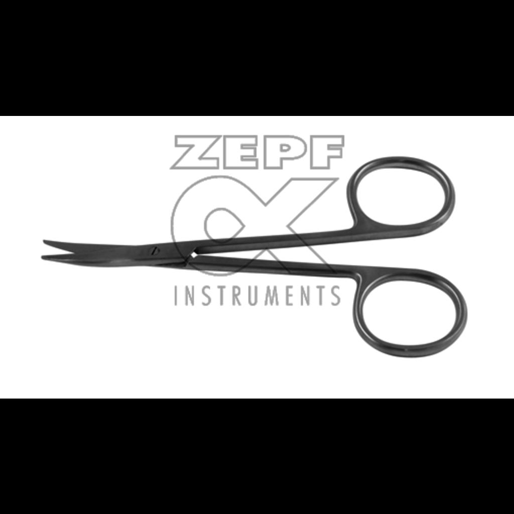 ZEPF Ciseaux STEVENS st / st courbe 11cm