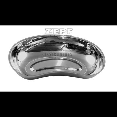 ZEPF Bassin rénal en acier inoxydable