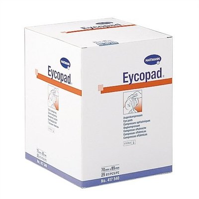 Hartmann Eycopad compresse oculaire stérile