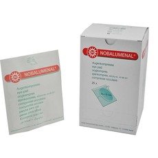 Oogkompres NOBALUMENAL® 54 x 70mm/ 25st