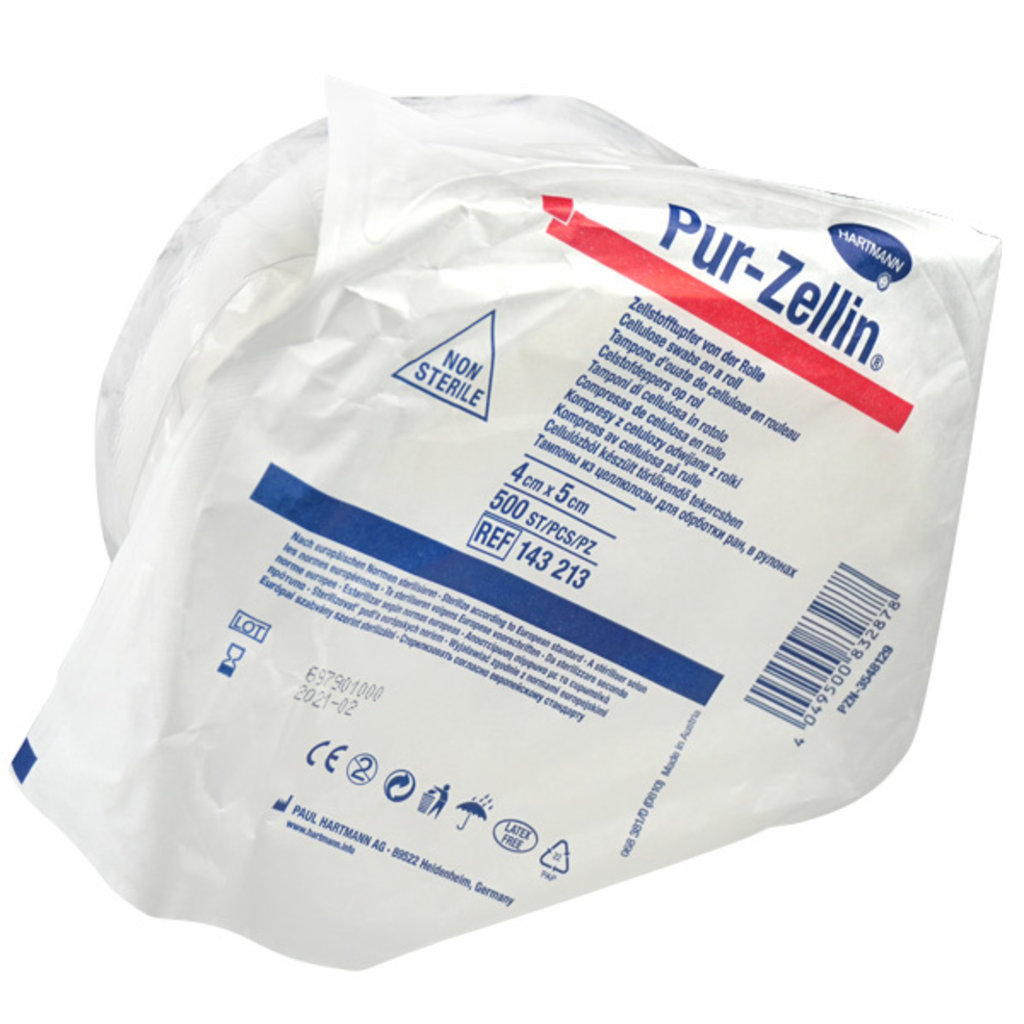 Hartmann Pur-Zellin® Celstofdeppers