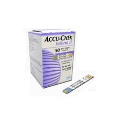 Accu-Chek® Bandes de glucose Inform II / 50pc