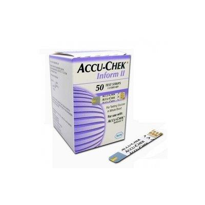 Accu-Chek® Bandes de glucose Inform II