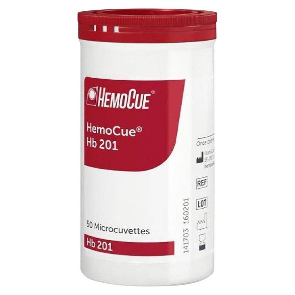 Hemocue HB 201 cuvetten (in potje)