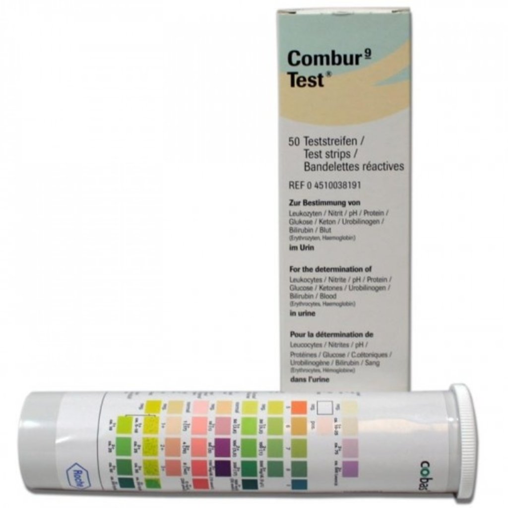 Bandelettes de test Combur