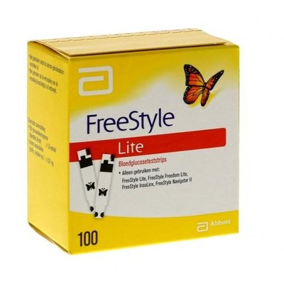 Freestyle Freedom Lite glucose test
