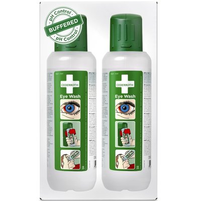 Cederroth 2-pack oogdouche flacons 500 ml