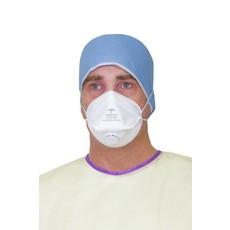 Medline Masques FFP3 respiratoires médicaux avec soupape,  réf. NON24510V (120pc)