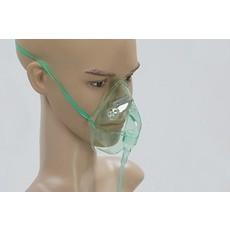 Masque O2 avec tuyau 210cm adulte/ 50pc