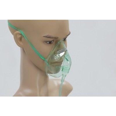 Masque O2 avec tuyau 210cm adulte