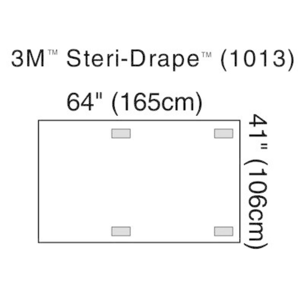 3M Steri-Drape™ Champ pour intensificateur d'imagerie à rayons X