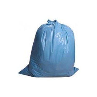 Sac poubelle LDPE 70 x 110cm bleu 0.055 / 10x20pc