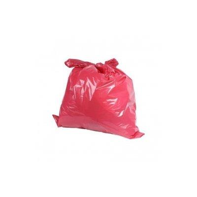 Afvalzak 70my rood 70 x 110cm ldpe/ 20 x 10st