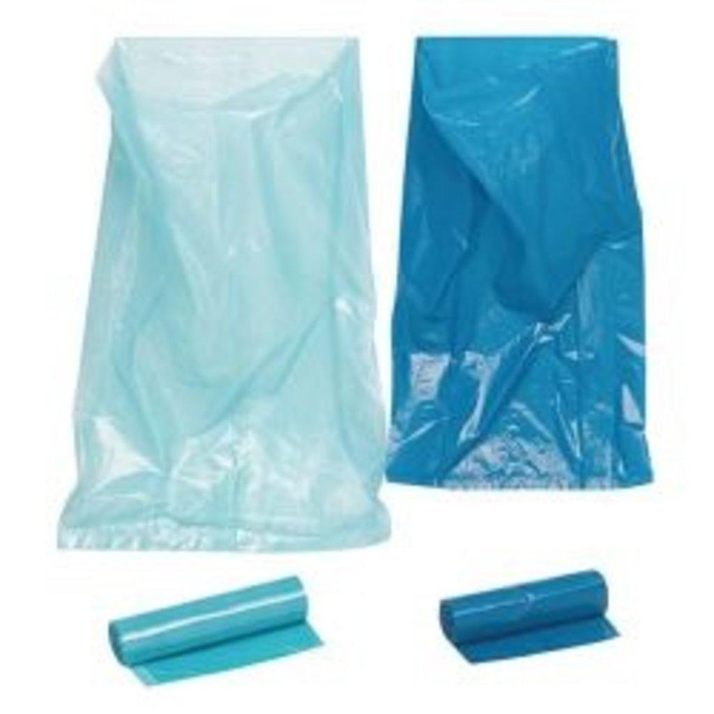 Sac poubelle 120ltr 70 x 100cm bleu / 250pc