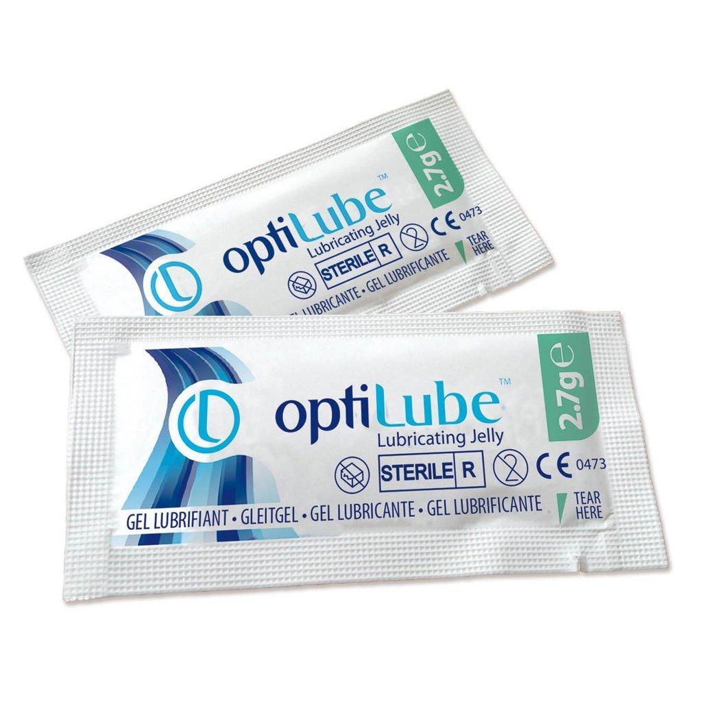 OptiLube sterile Lubricant 2,7gr/ 144st