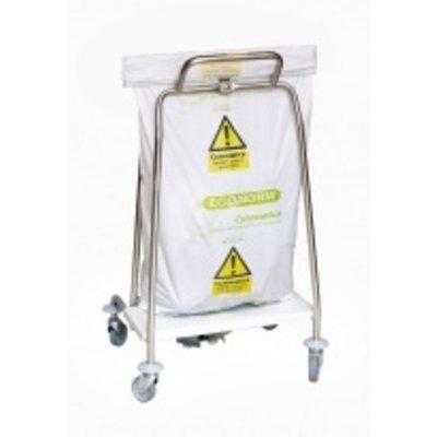 Sac poubelle HDPE Cytostatics 58 x 100cm / 25 x 10 pc