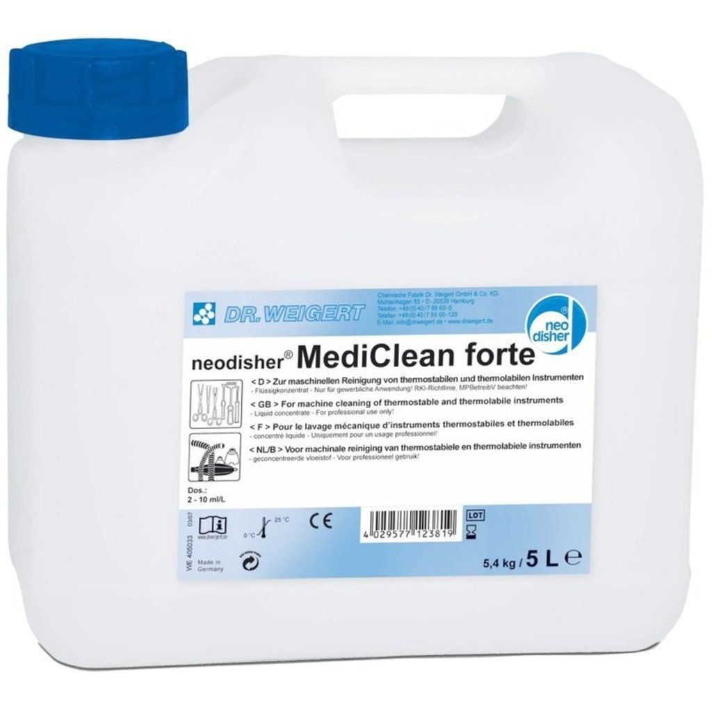 Neodisher Mediclean Forte 5L / 1pc