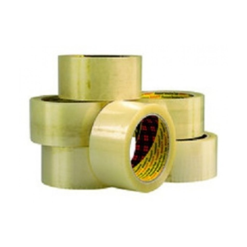 Scotch Verpakkingstape PP 371 50 mm x 66 m, transparant (pak 6 x 66 meter)