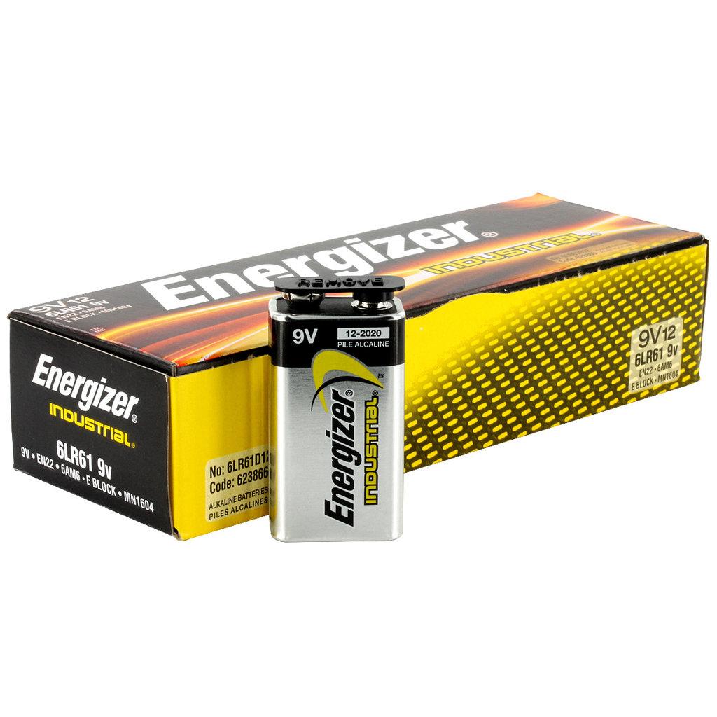 Batterij Energizer Industrial 9V/ 12st