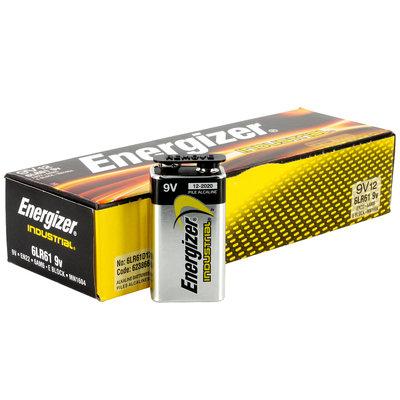Batterie Energizer Industrial 9V/ 12pc