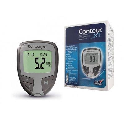 Glucosemeter Bayer Contour XT startpakket