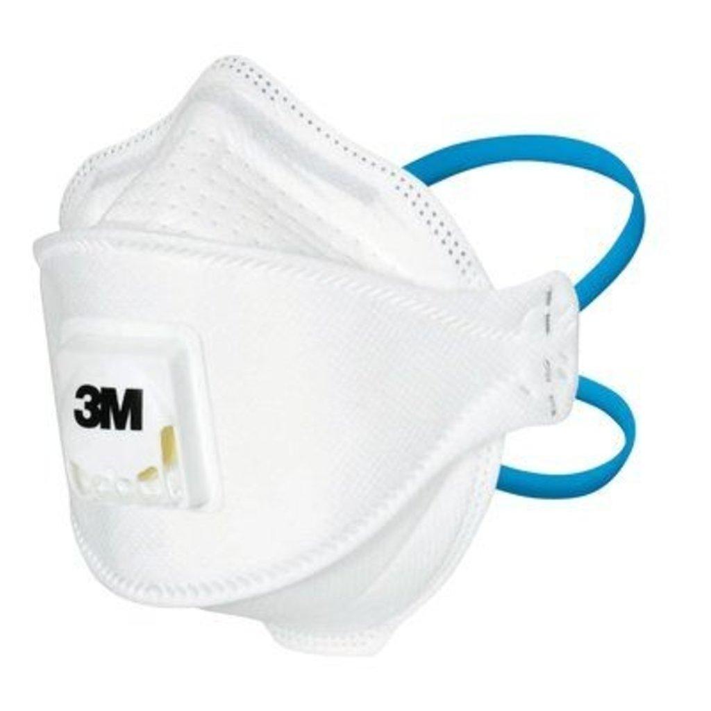 3M Masques FFP3 respiratoires médicaux Aura, réf. 1863MD (20pc)