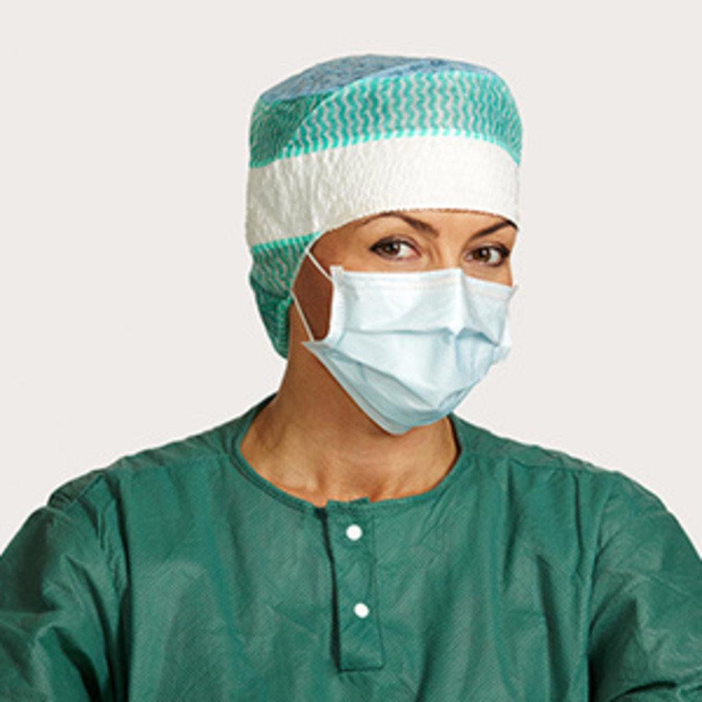 Mölnlycke Masques chirurgicaux Type IIR, réf. 4224- BARRIER (50pc)