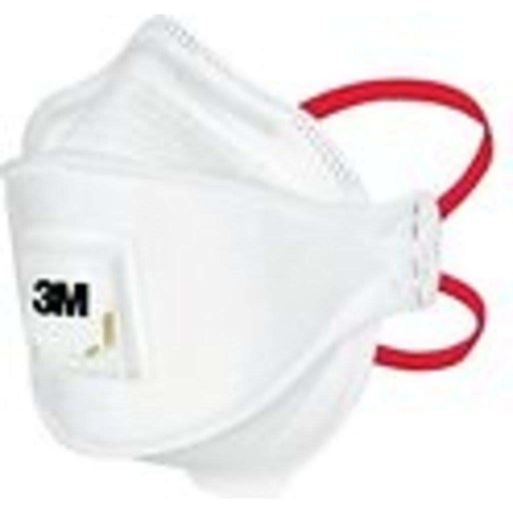 3M Masques FFP3 respiratoires médicaux Aura avec soupape, réf. 1873MD (10pc)