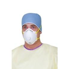 3M Masques FFP2 respiratoires médicaux Aura avec soupape, réf. 1872MD (10pc)