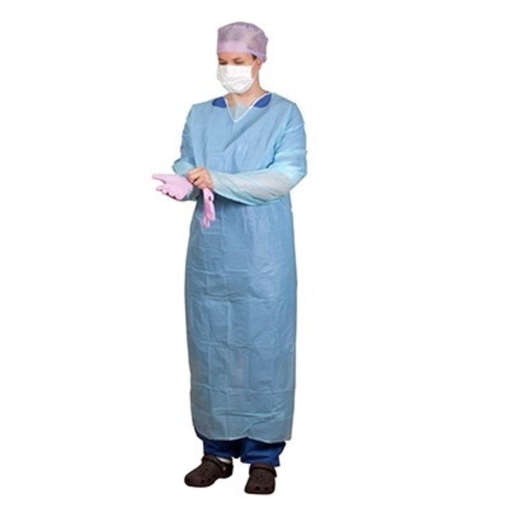 Onemed  Chemises de protection manches longues, Large 110x140cm (100pcs)