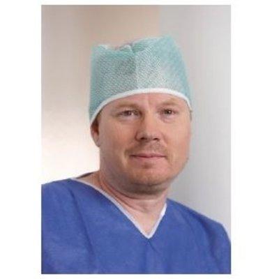 Onemed  Evercare operatiemuts Tristan groen - 100 stuks