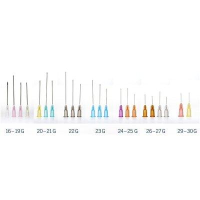 Onemed  KD-FINE aiguille d´ injection - plusieures tailles  (par 100 pc)