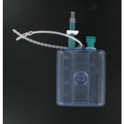 Vygon Drain Vydrain HVS 400 ml avec tubulure 125 cm et connecteur universel (50 pièces)