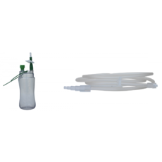 Flacon HVS 400 ml LL avec tubulure (30 pièces)