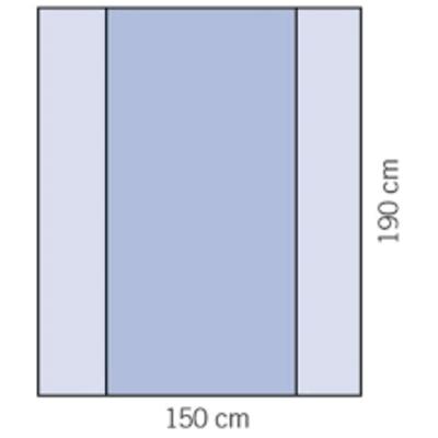 Evercare Evercare instrumentenveld 150x190cm (15 stuks)