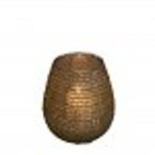 Mars&more Waxine filigraan bol goud 10cm