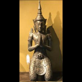 De Wonderkamer Bouddha authentique (assis)