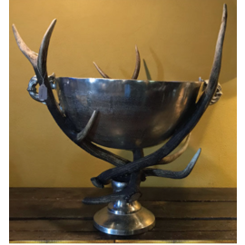 De Wonderkamer Champagne cooler with antlers