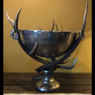 De Wonderkamer Champagne cooler with antlers