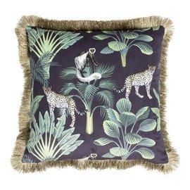 Mars&more Cushion Panther (velvet)