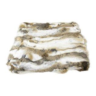 De Wonderkamer Rabbit fur plaid
